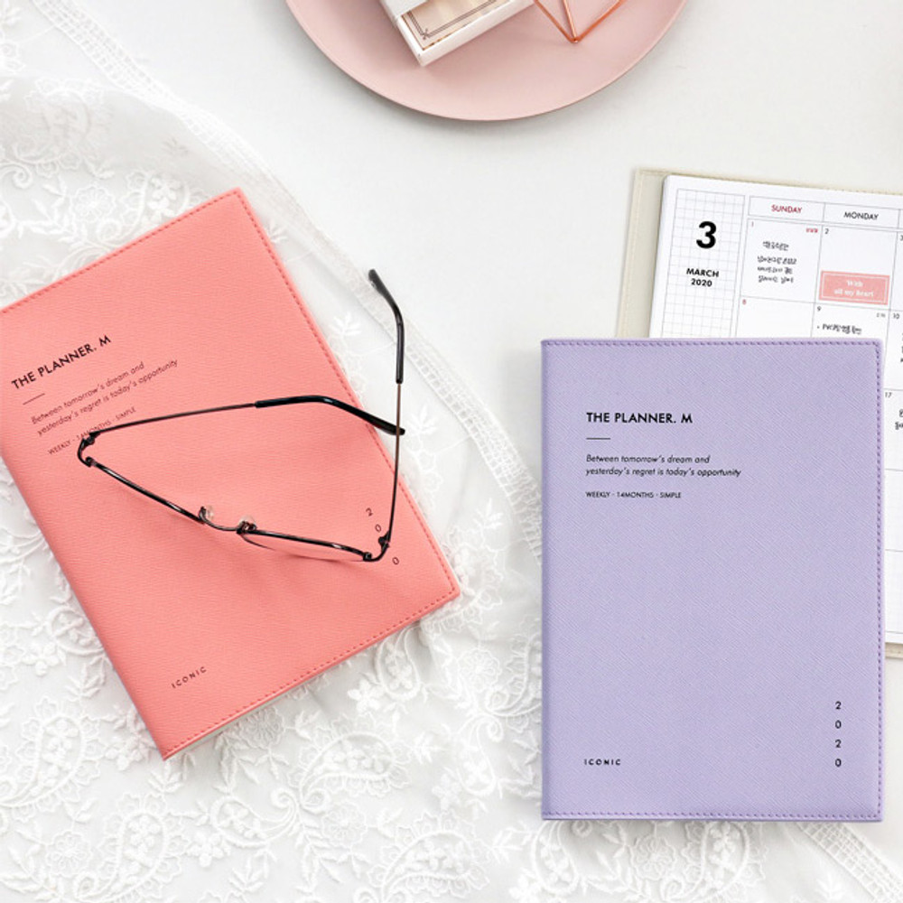 ICONIC 2020 Simple medium dated weekly planner scheduler