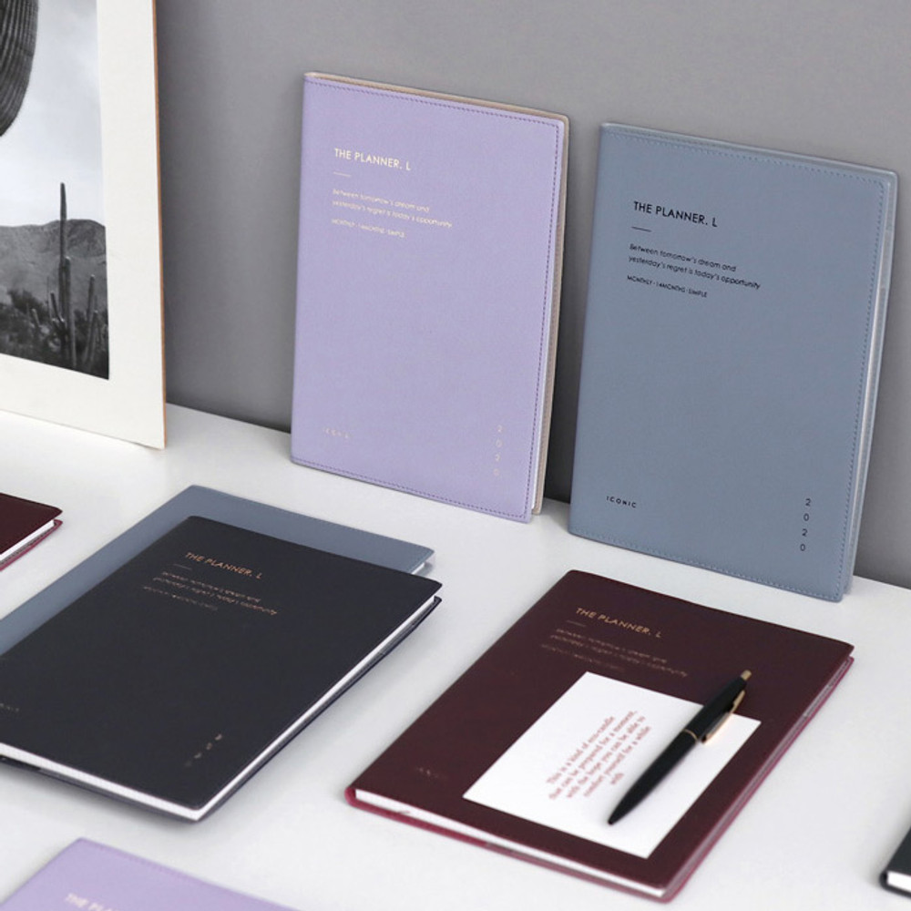 ICONIC 2020 Simple large dated monthly planner scheduler