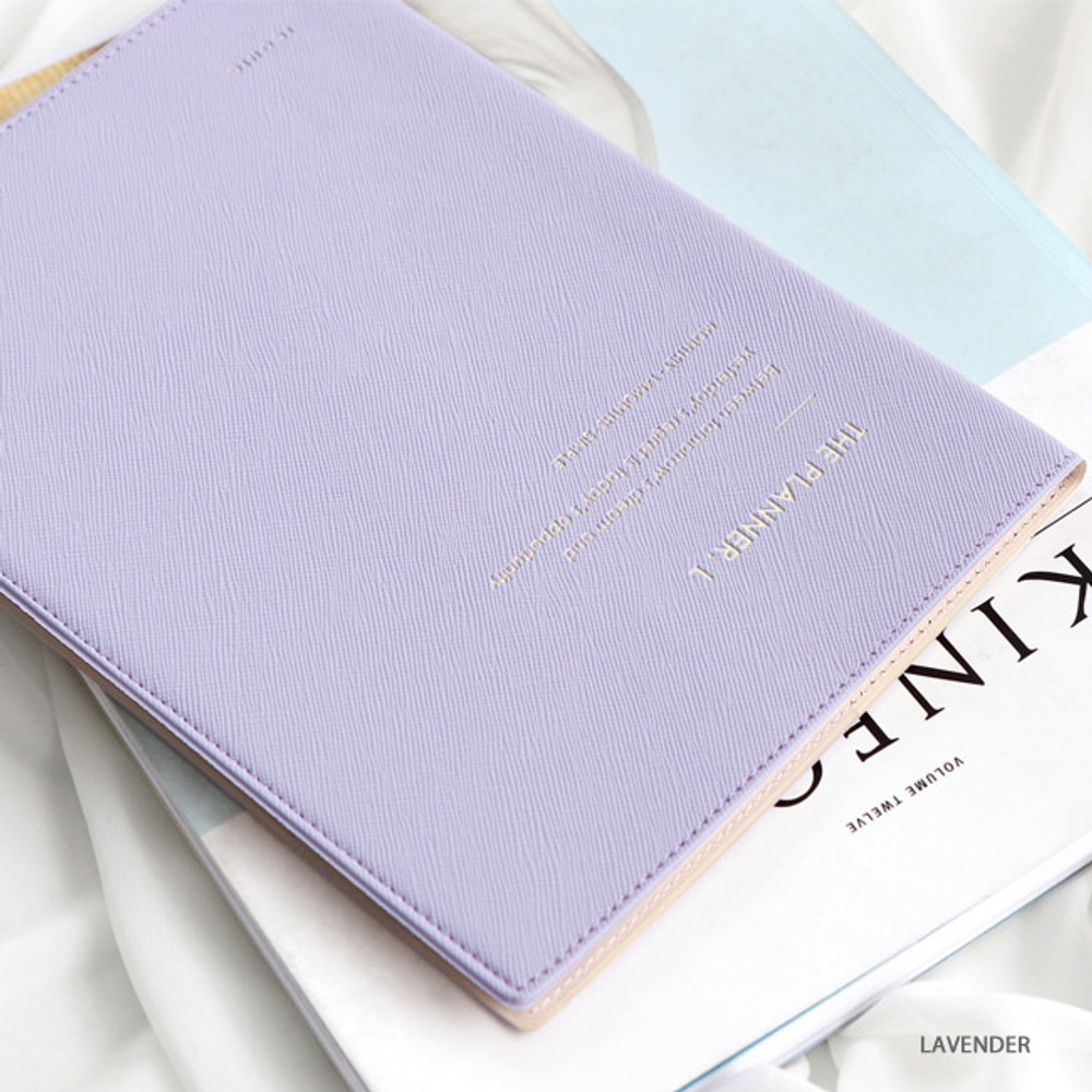 Lavender - ICONIC 2020 Simple large dated monthly planner scheduler