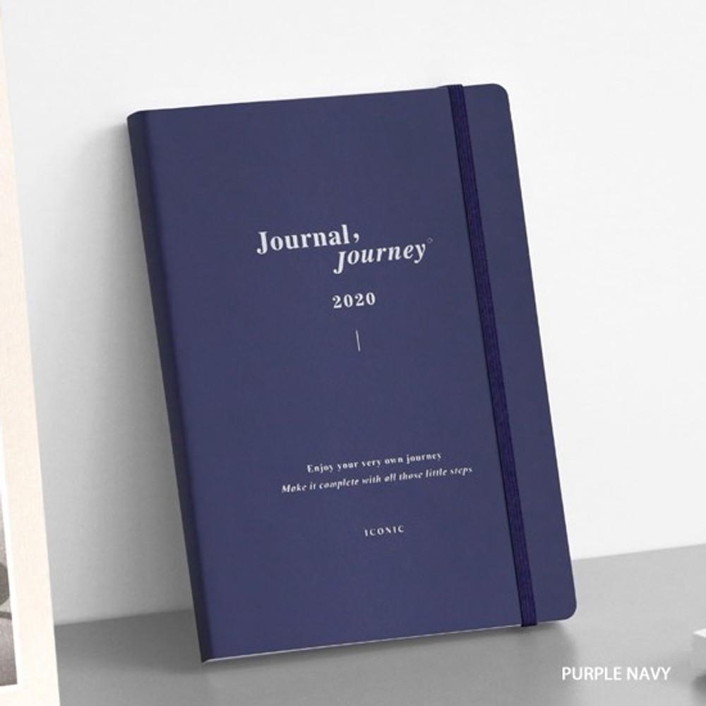 Purple navy - ICONIC 2020 Journal Journey dated weekly planner scheduler