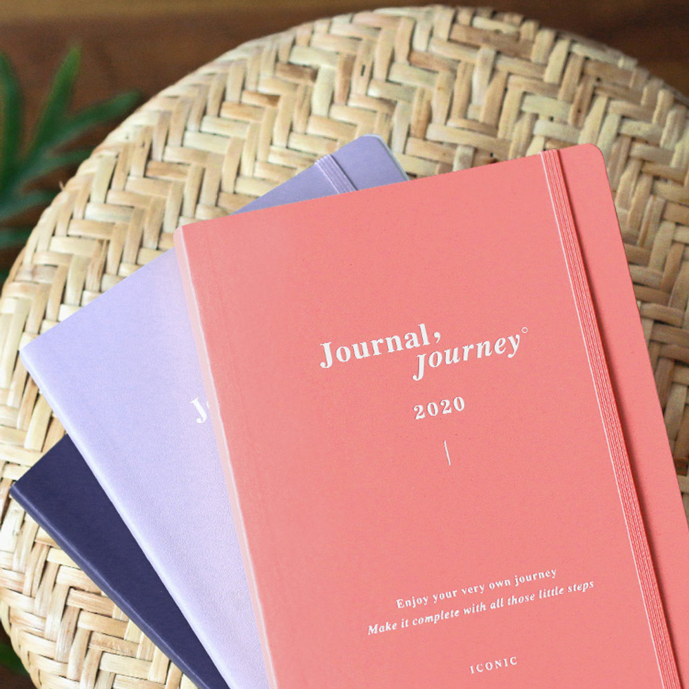 ICONIC 2020 Journal Journey dated weekly planner scheduler