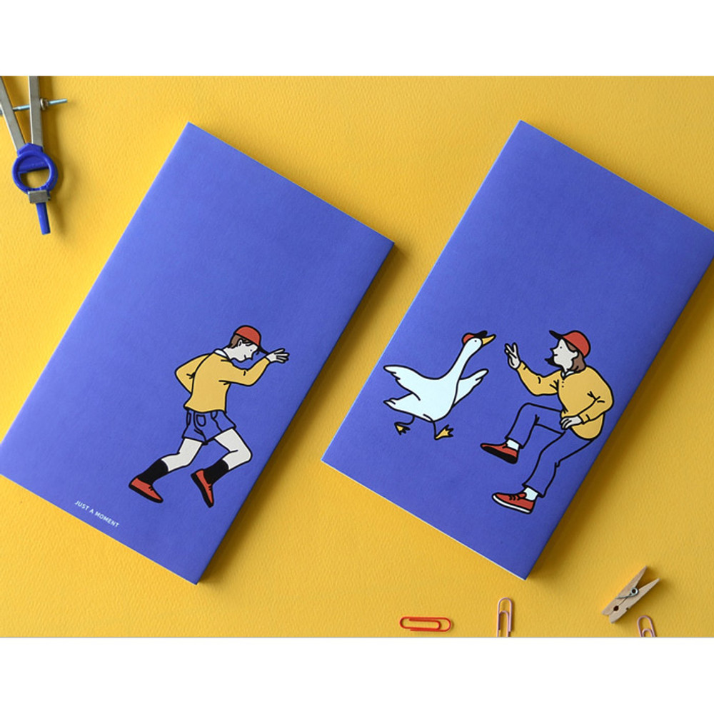 Blue - Jam Studio 2020 Happy together dated weekly diary planner