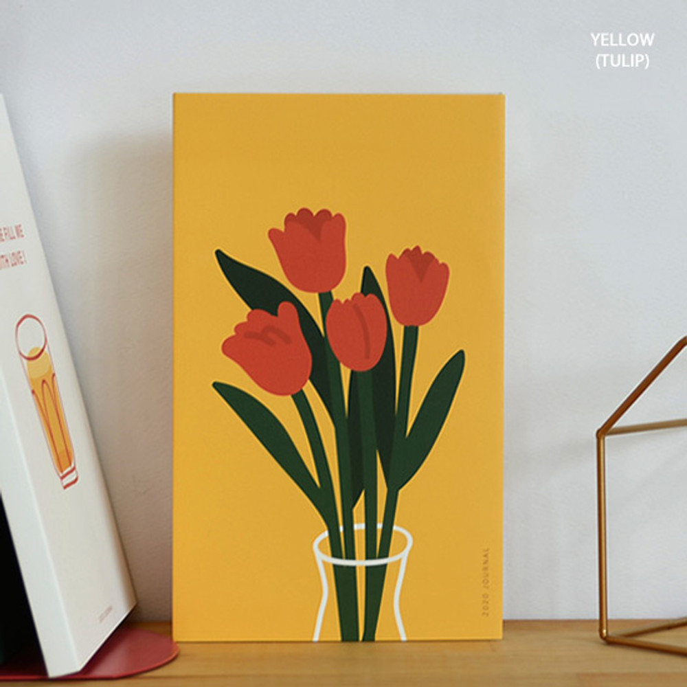 Yellow(tulip) - Jam Studio 2020 Dong Dong dated weekly diary planner