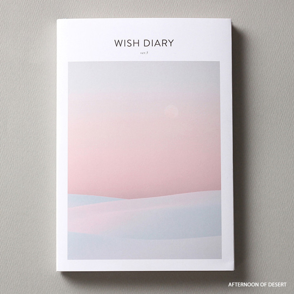 Afternoon of desert - Dash And Dot 2020 Wish dated weekly diary planner