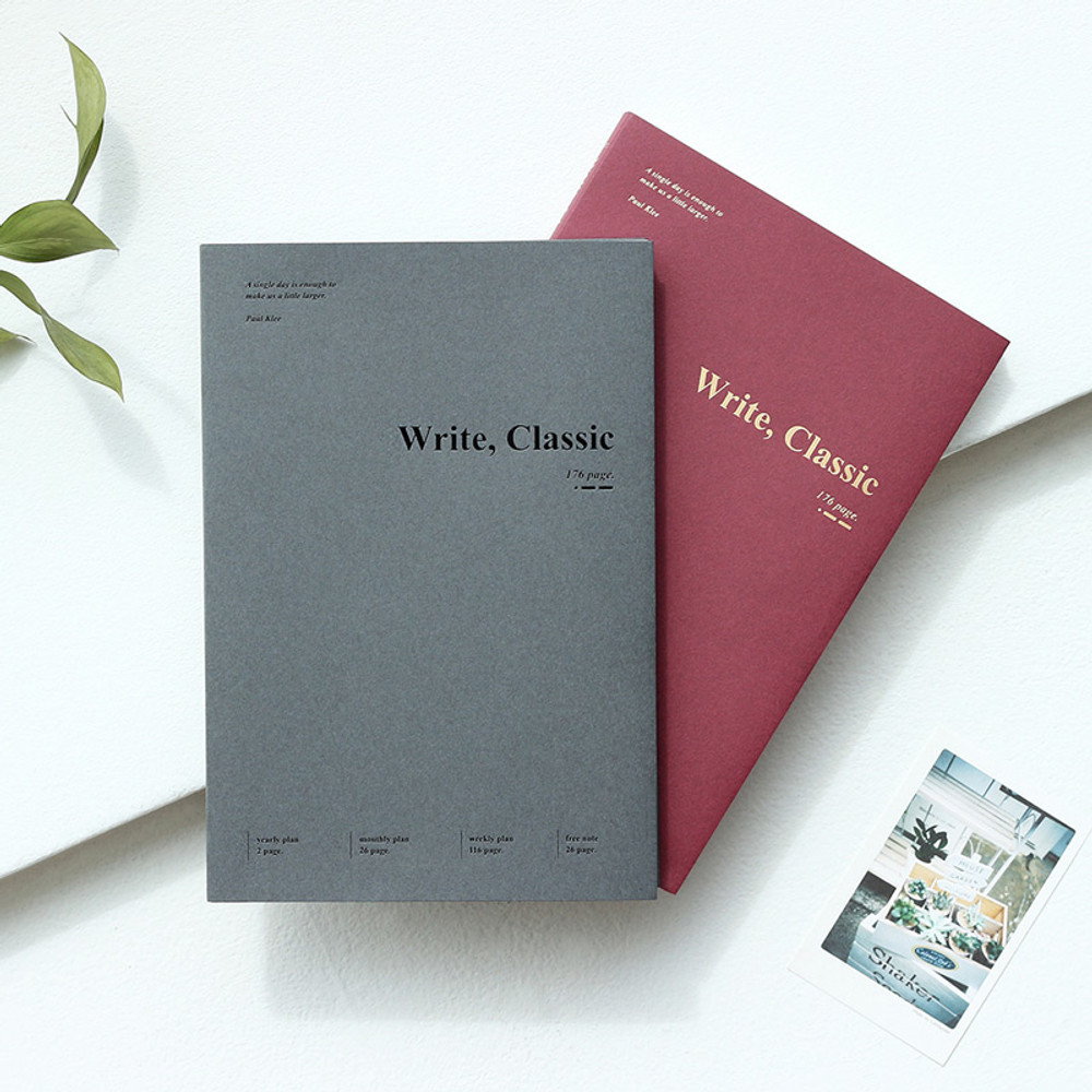 Wanna This 2020 Write classic dated weekly planner scheduler
