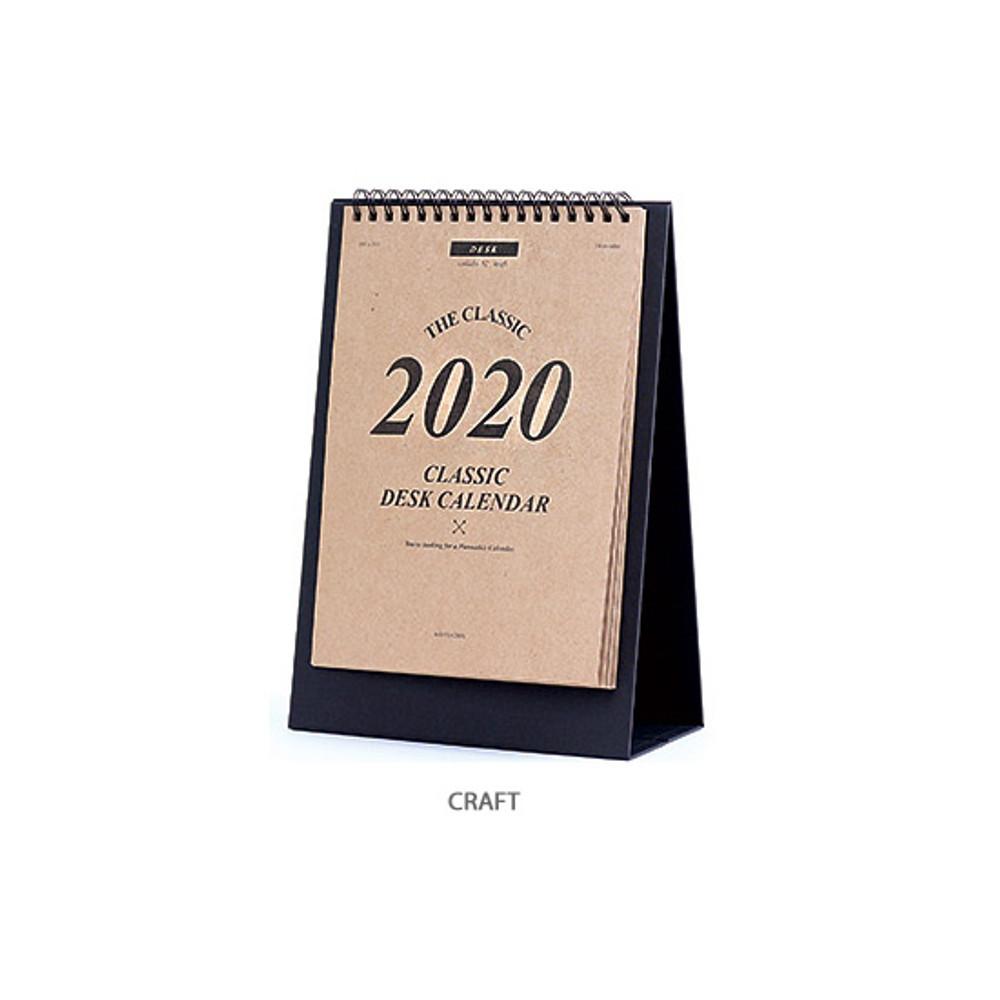 Craft - Wanna This 2020 Classic stand up desk flip calendar