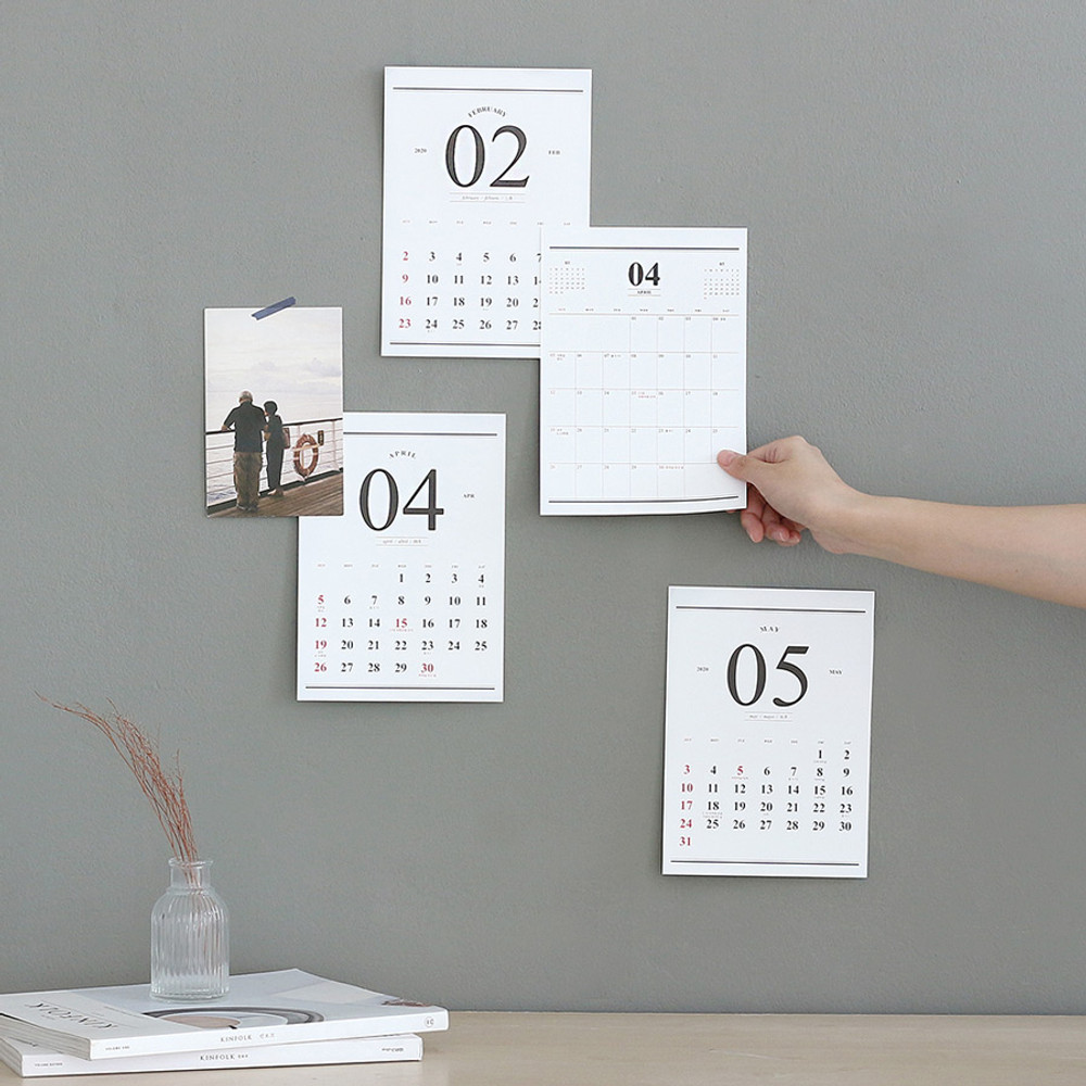 Wanna This 2020 Classic monthly calendar sheets