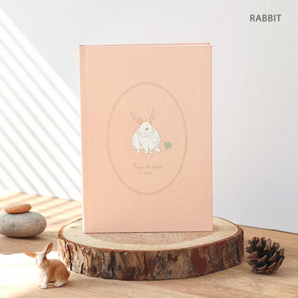 Rabbit - PAPERIAN From the forest dateless weekly diary planner
