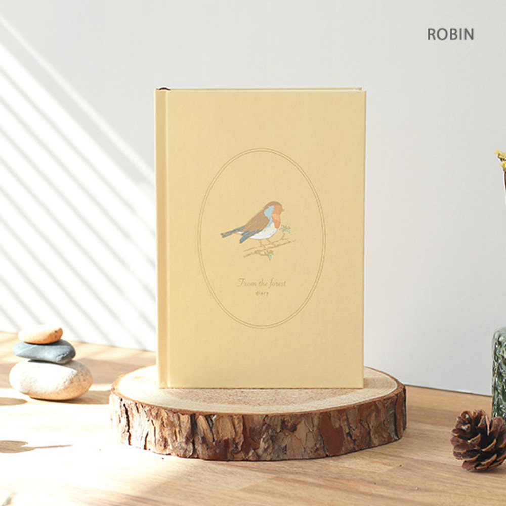 Robbin - PAPERIAN From the forest dateless weekly diary planner