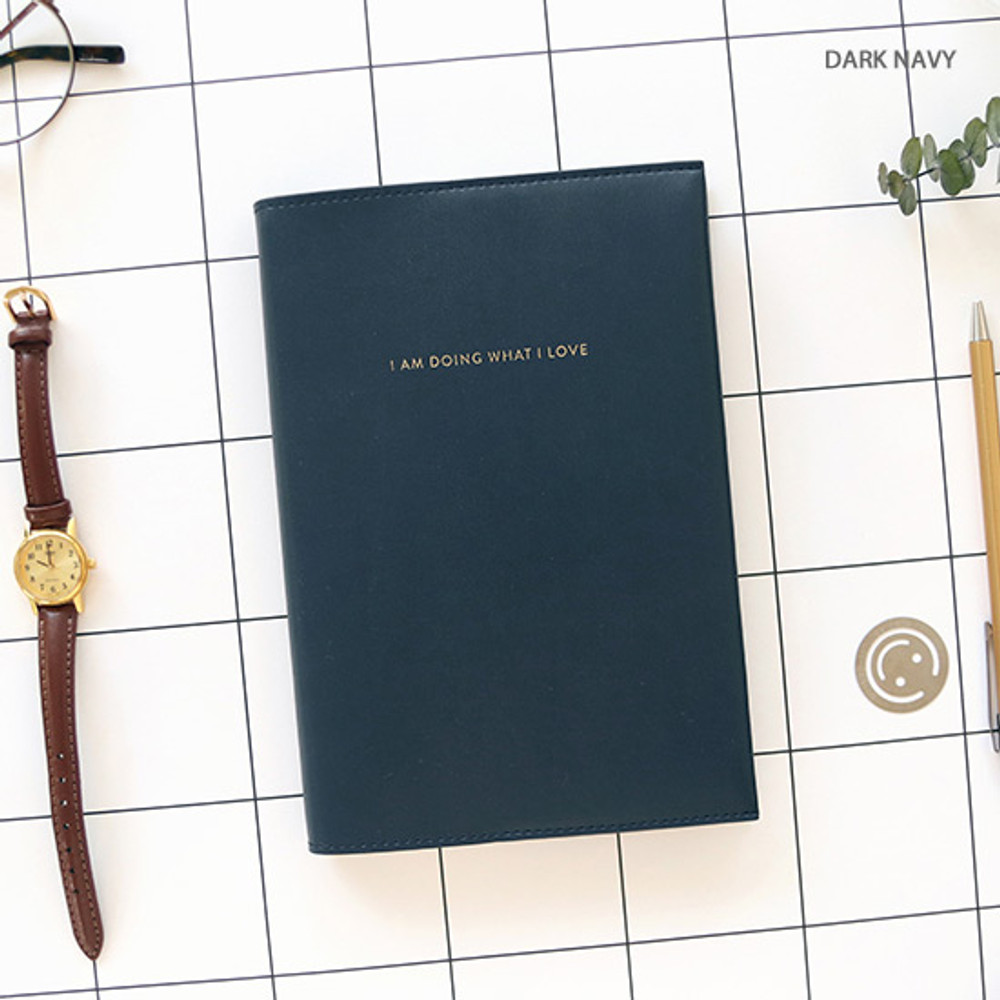 Dark navy - PAPERIAN 2020 I am doing what i love dated weekly planner