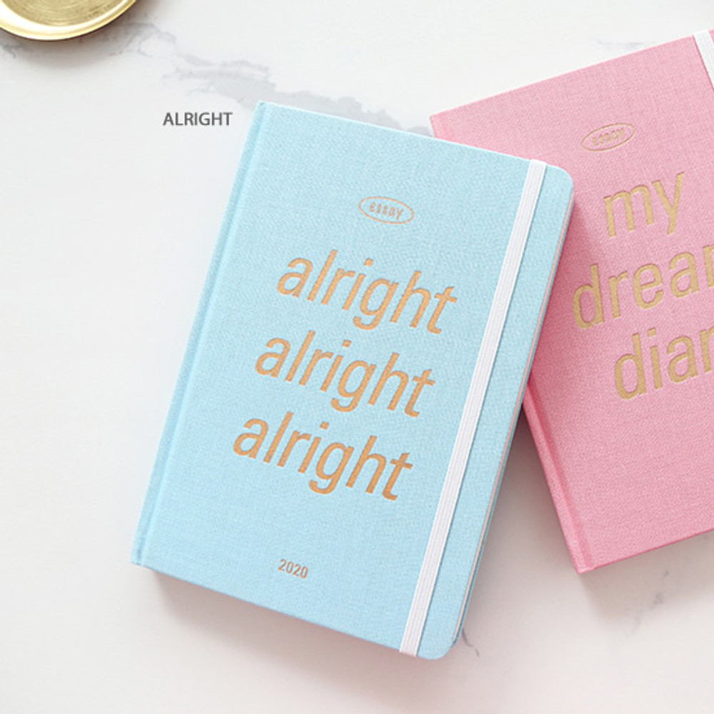 Alright - PAPERIAN 2020 Essay special B6 hardcover dated weekly agenda