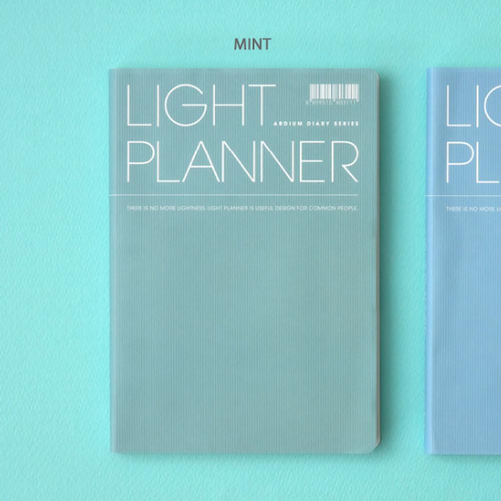 Mint - Ardium 2020 Light dated daily planner scheduler