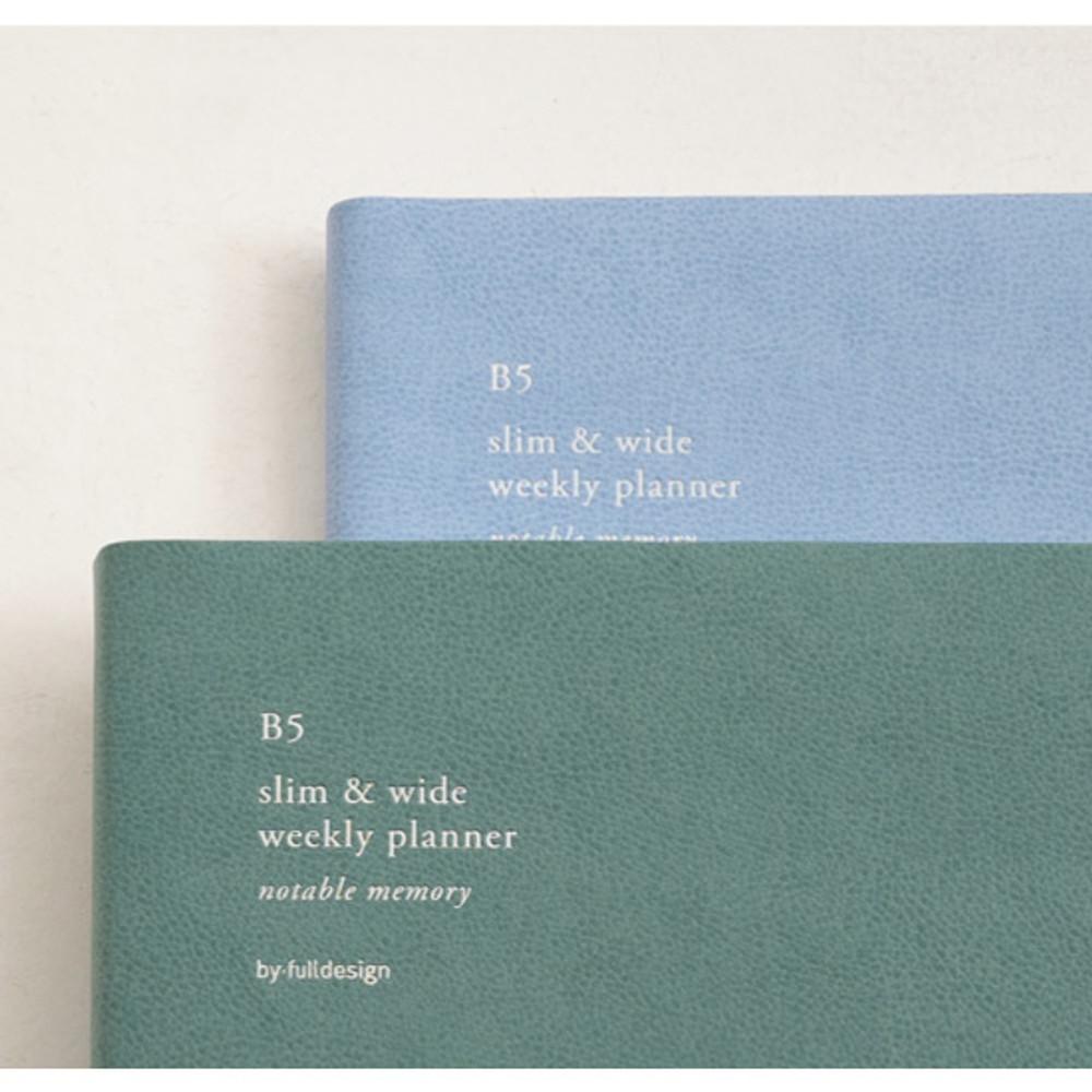 2020 Notable memory B5 dated weekly planner