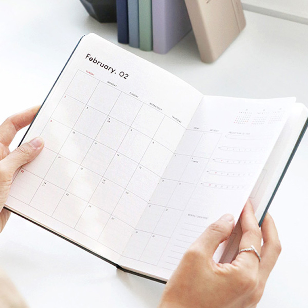 ICONIC 2020 Brilliant dated weekly planner scheduler