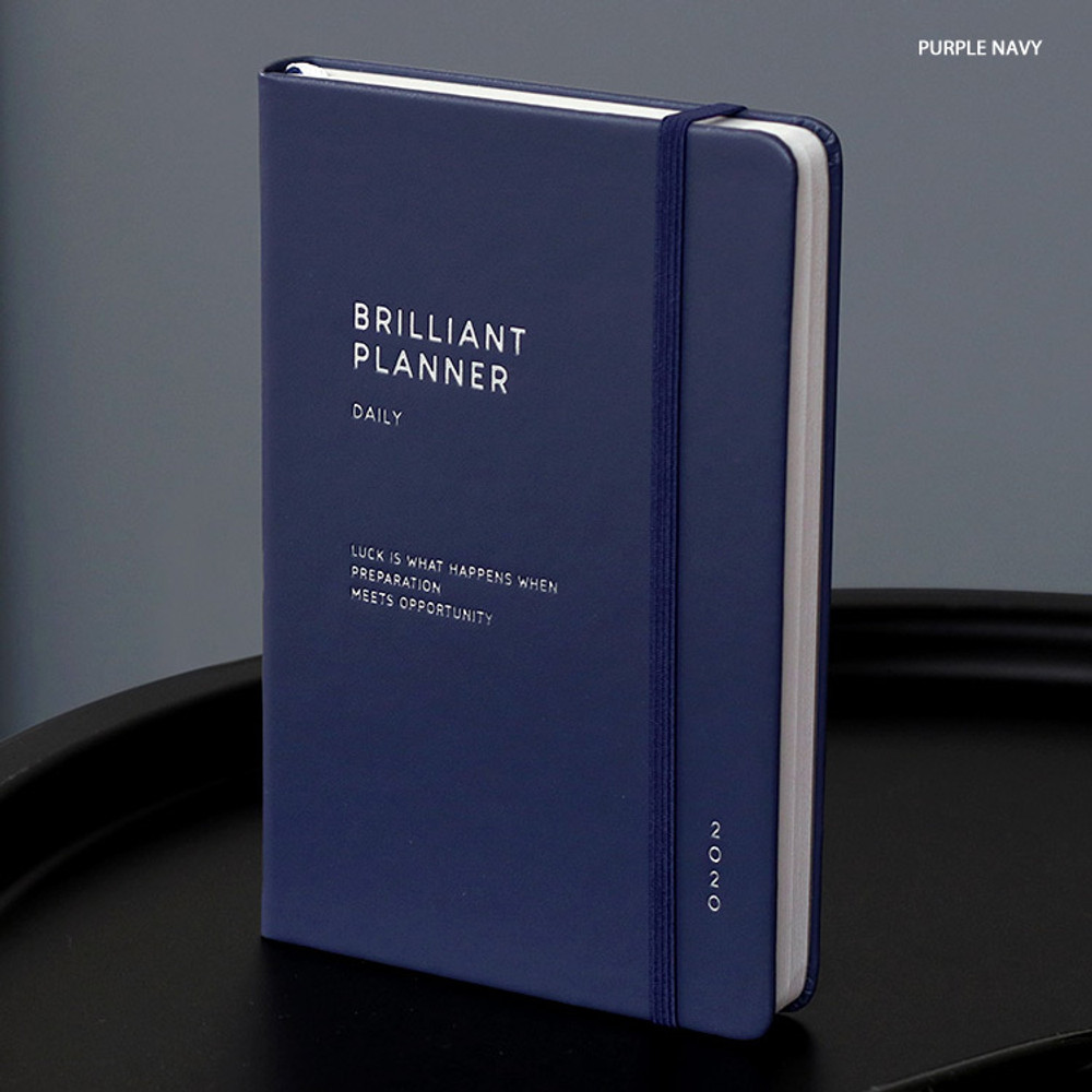 Purple navy - ICONIC 2020 Brilliant dated daily planner scheduler