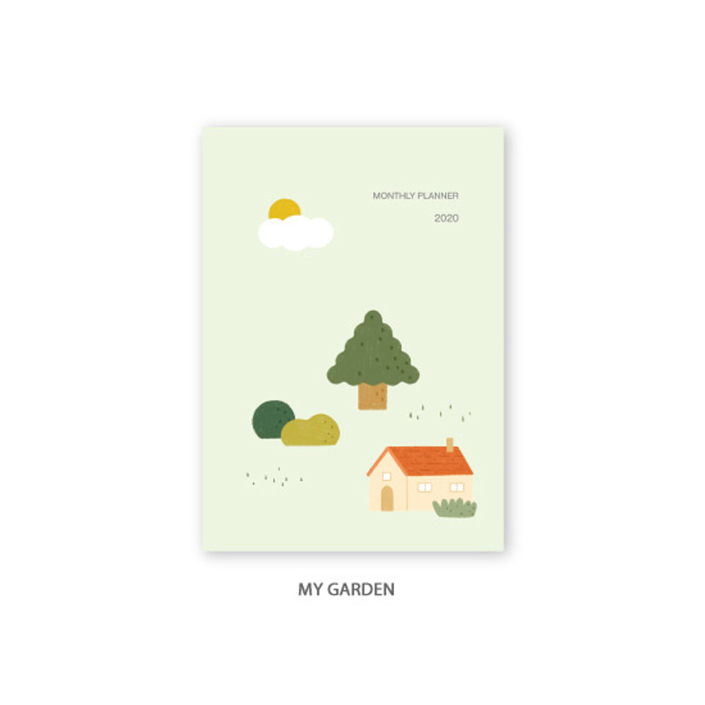 My Garden - O-CHECK 2020 Spring come dated monthly planner scheduler