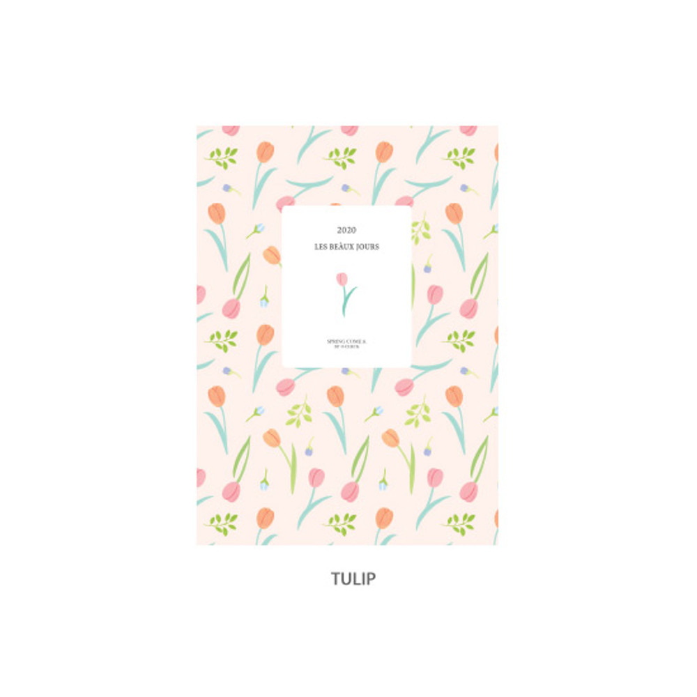 Tulip - O-CHECK 2020 Les beaux jours dated weekly diary planner