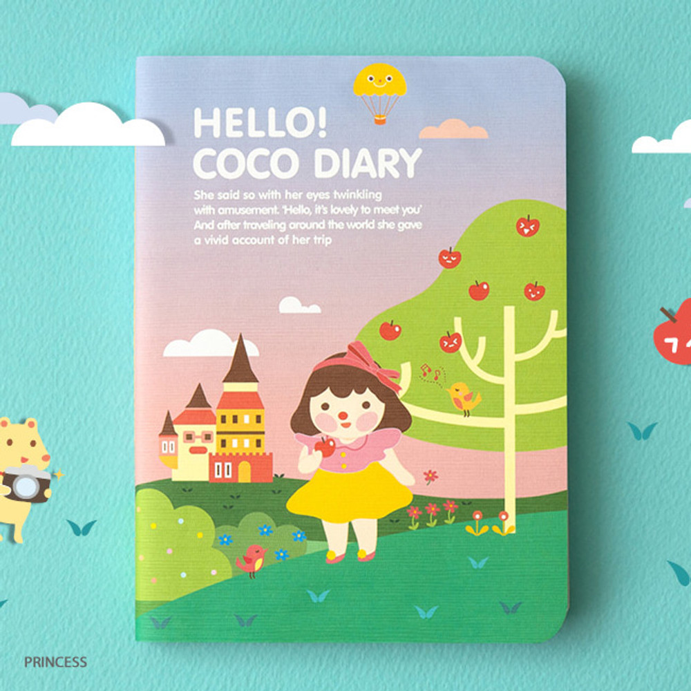 Princess - Ardium 2020 Hello coco dated weekly diary planner