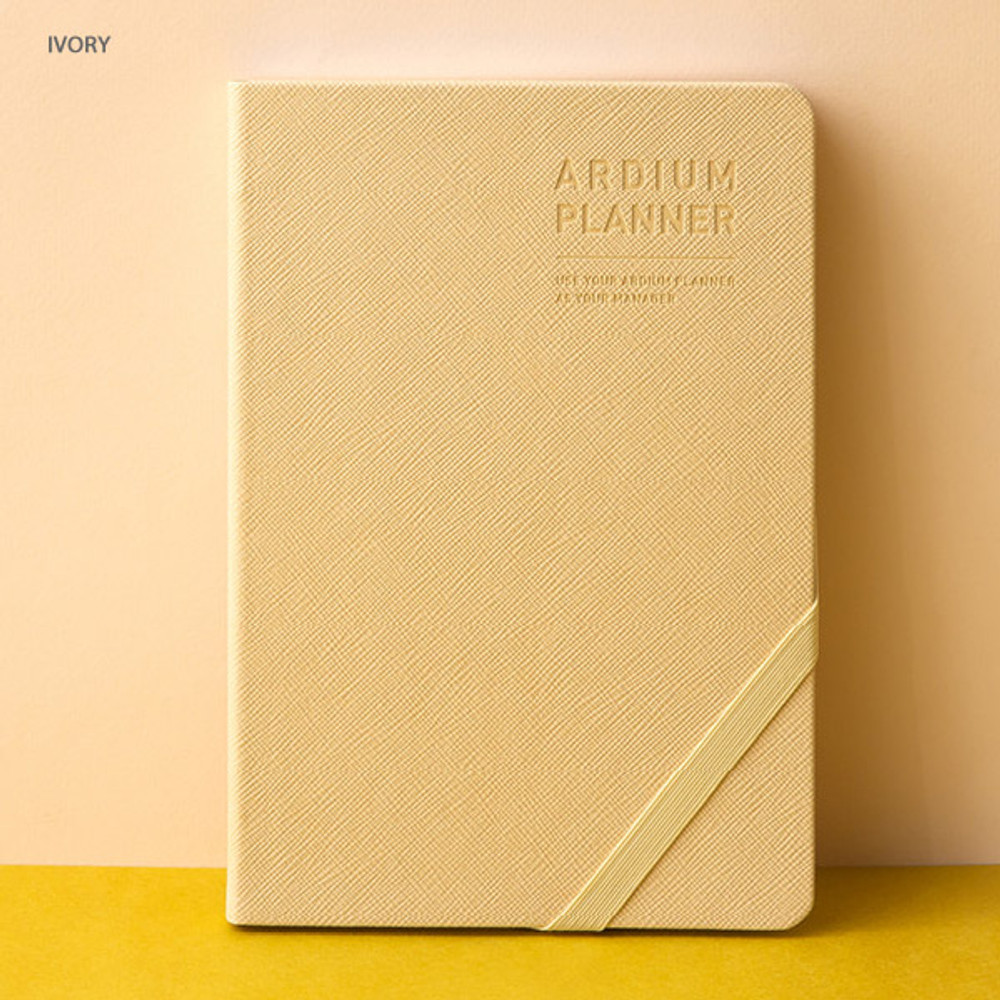 Ivory - Ardium 2020 Simple medium dated weekly diary planner