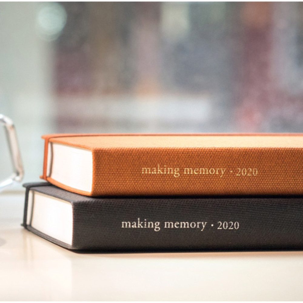 Byfulldesign 2020 Making memory small dated daily planner