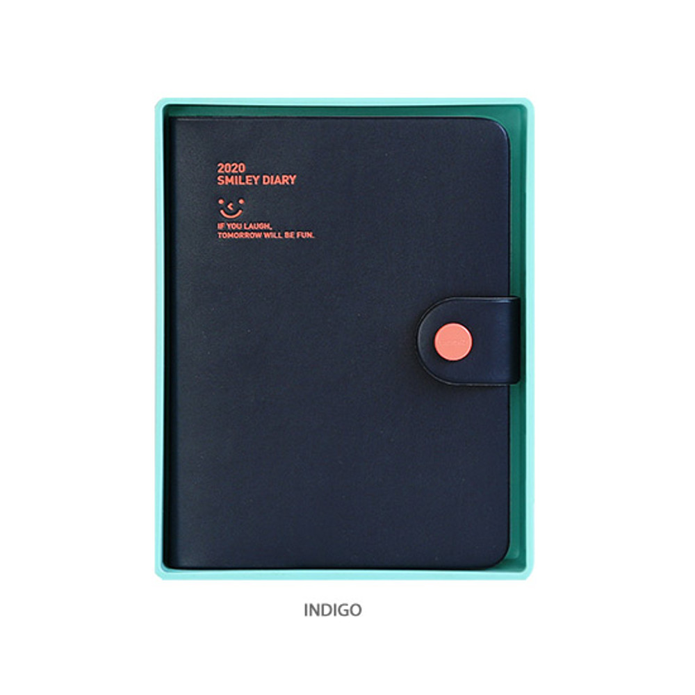 Indigo - Monopoly 2020 Smiley dated daily diary with tray