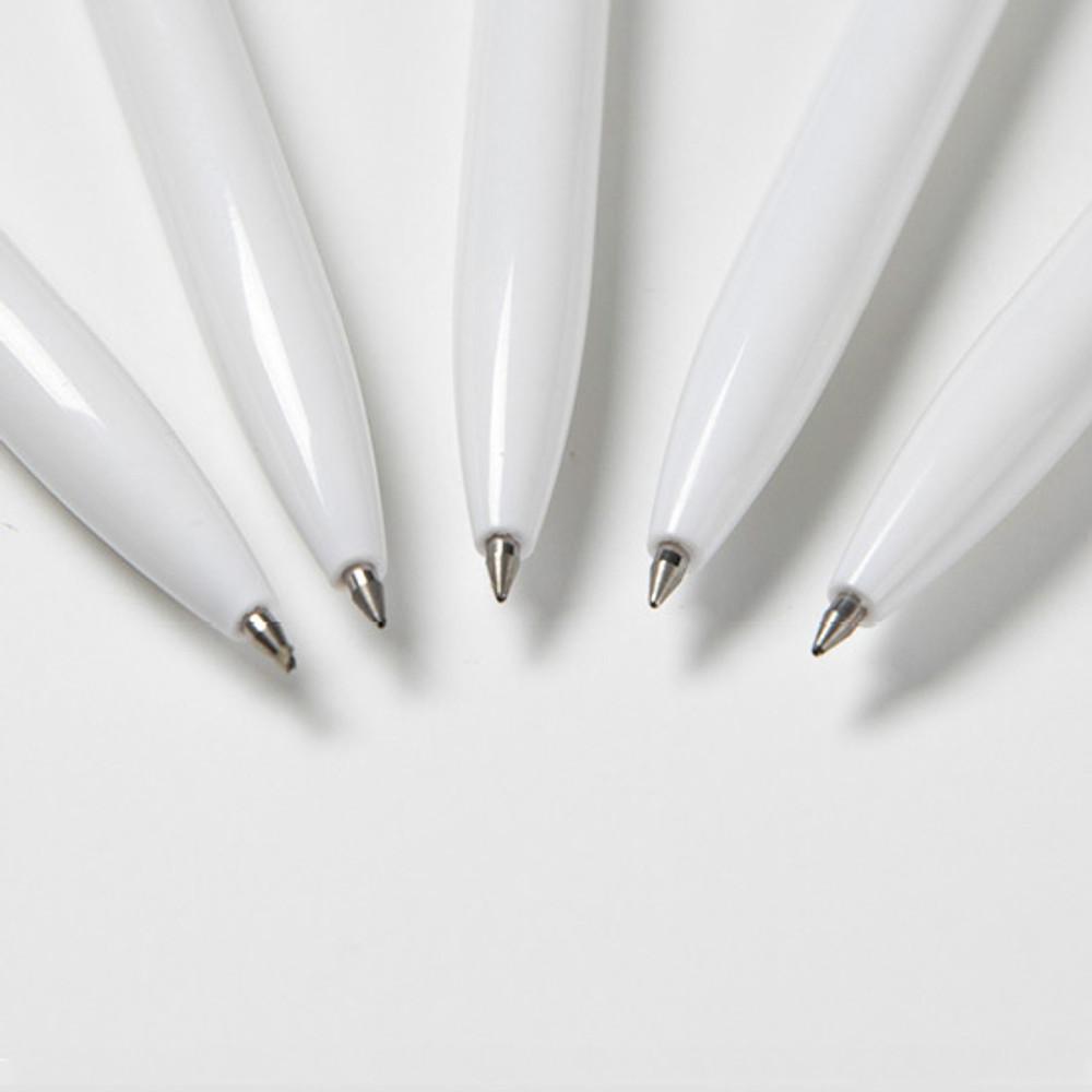 0.5mm tip - DESIGN IVY Ggo deung o 0.5mm black gel pen