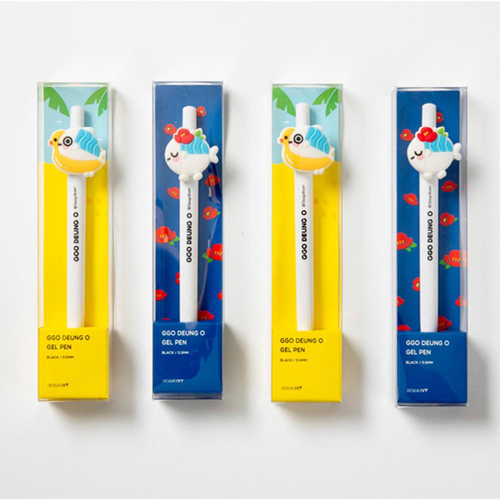 Package - DESIGN IVY Ggo deung o 0.5mm black gel pen
