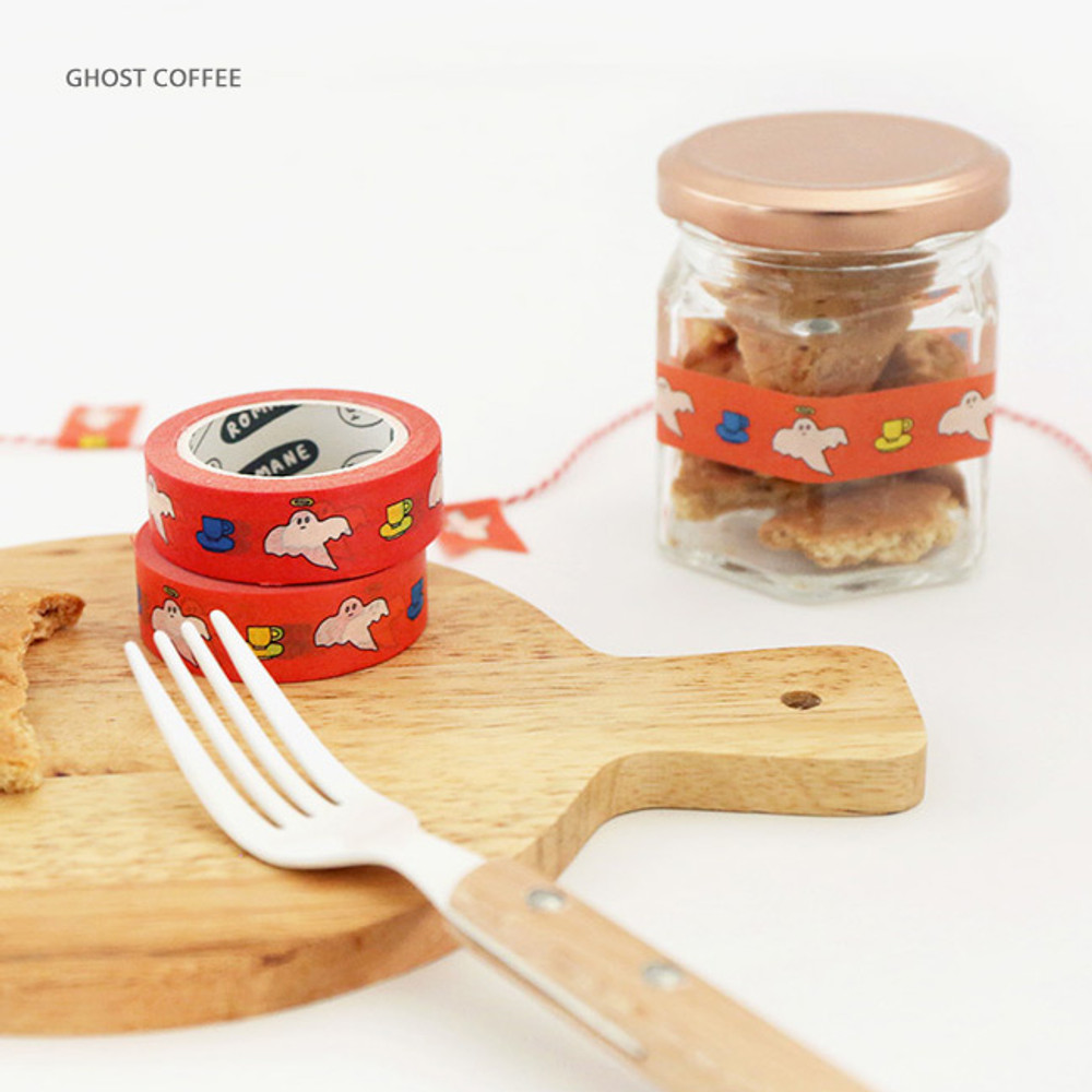 Ghost coffee - Brunch Brother 15mm X 10m deco masking tape ver2