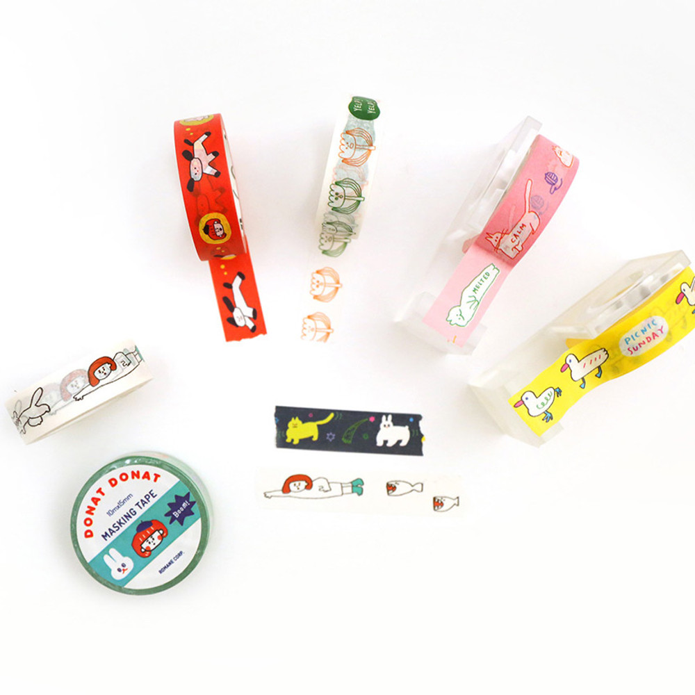 DONATDONAT 15mm X 10m deco masking tape