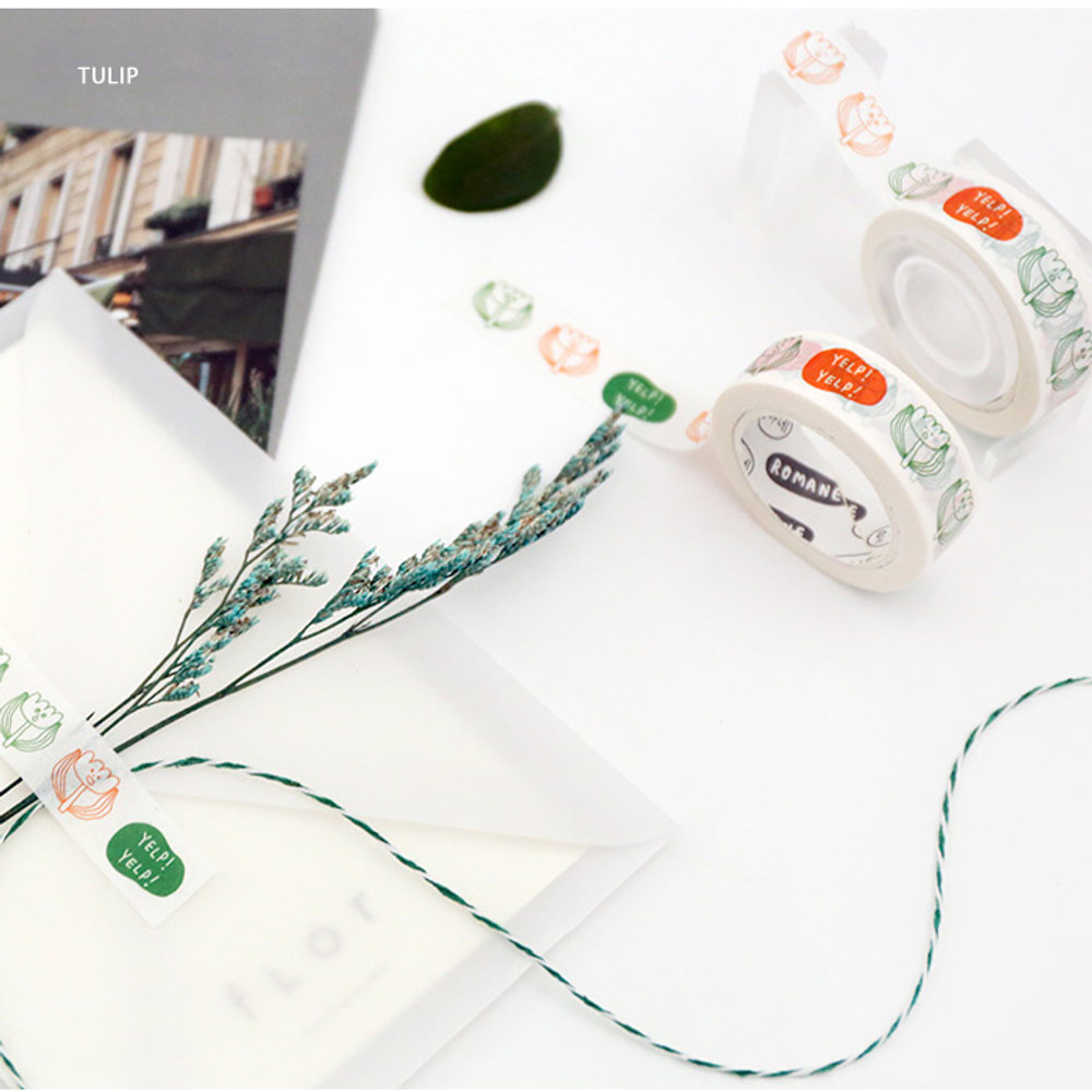 Tulip - DONATDONAT 15mm X 10m deco masking tape