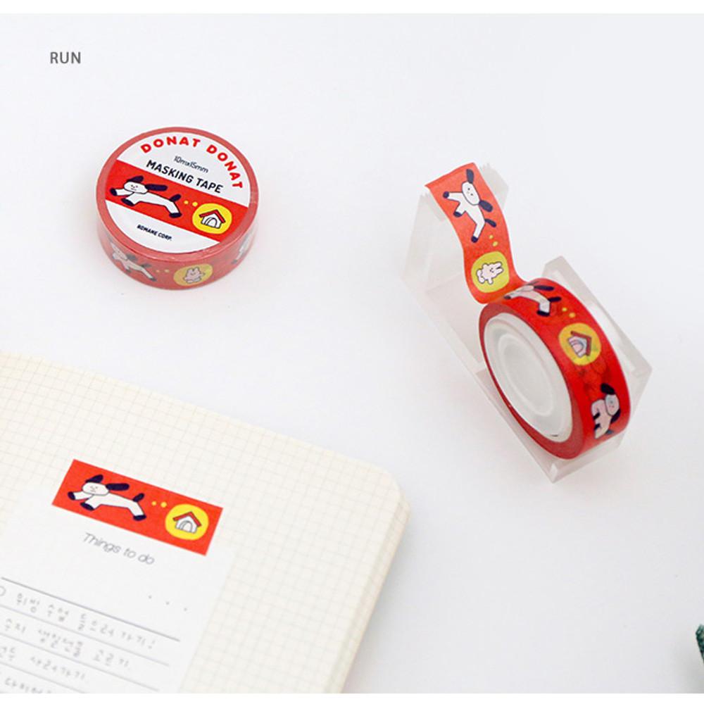 Run - DONATDONAT 15mm X 10m deco masking tape