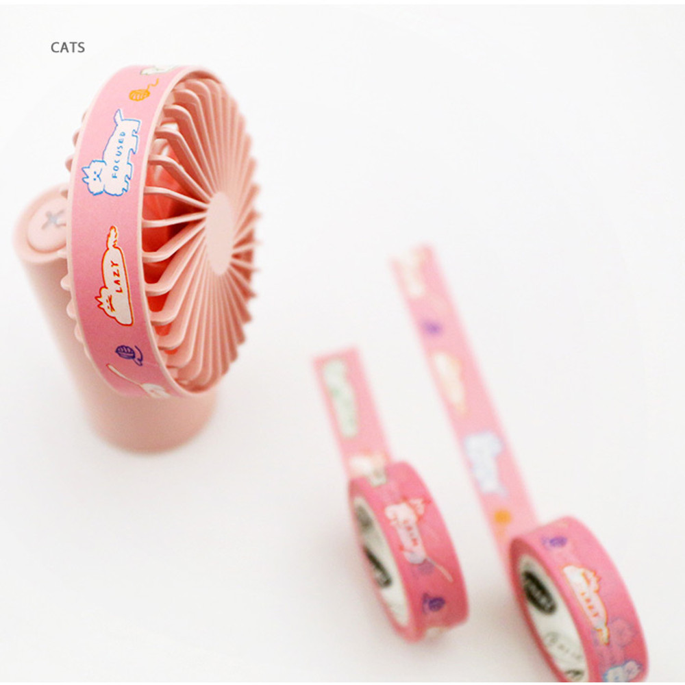 Cats - DONATDONAT 15mm X 10m deco masking tape