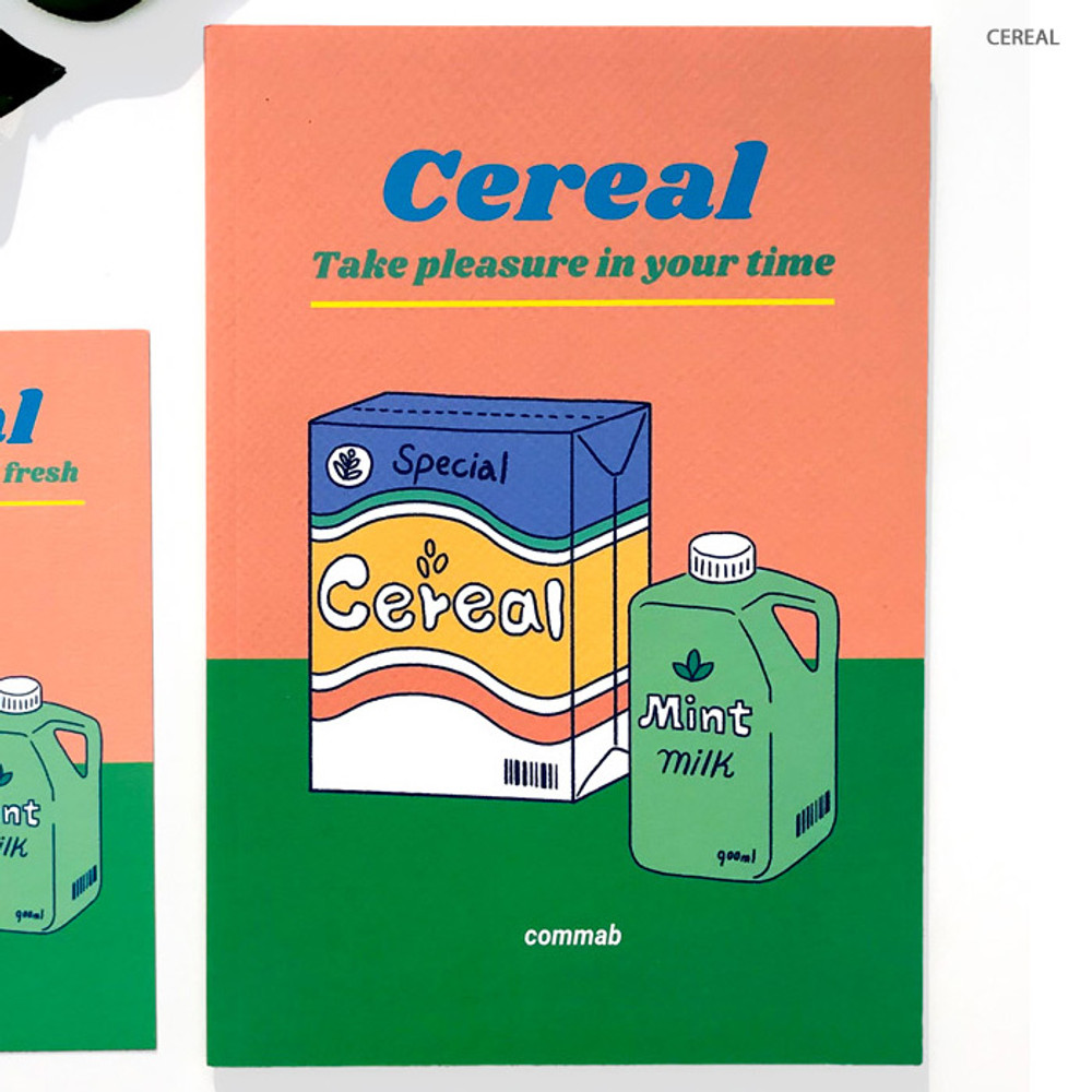 Cereal - Design Comma-B 2020 Retro mood dated monthly diary planner