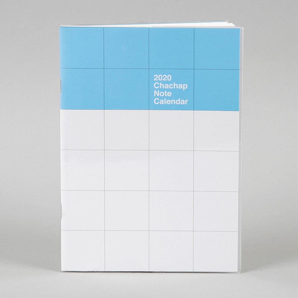 Chachap 2020 Note dated monthly planner scheduler