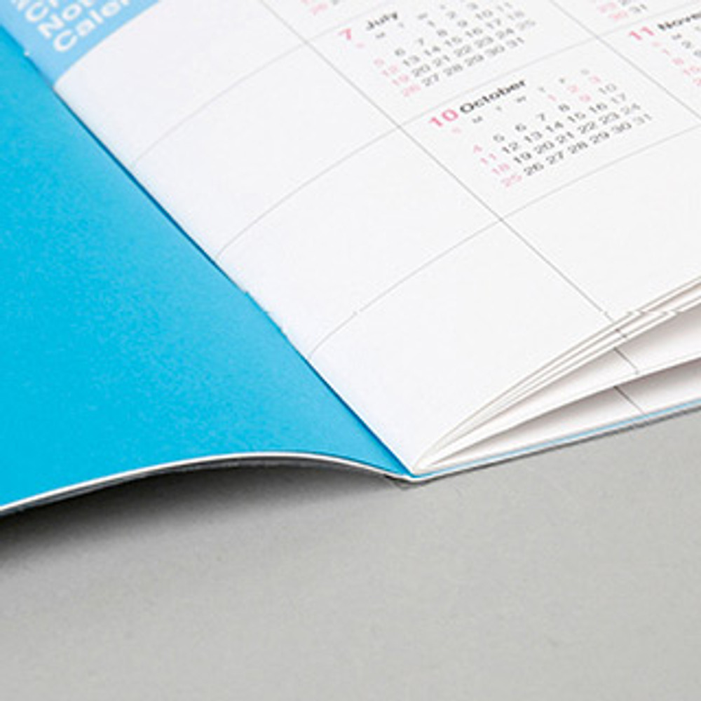 Opens flat - Chachap 2020 Note dated monthly planner scheduler