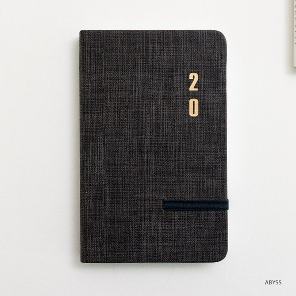 Abyss - eedendesign 2020 Simple dated weekly diary planner