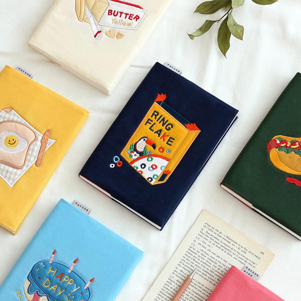 Wanna This Tailorbird fabric dateless weekly planner ver5