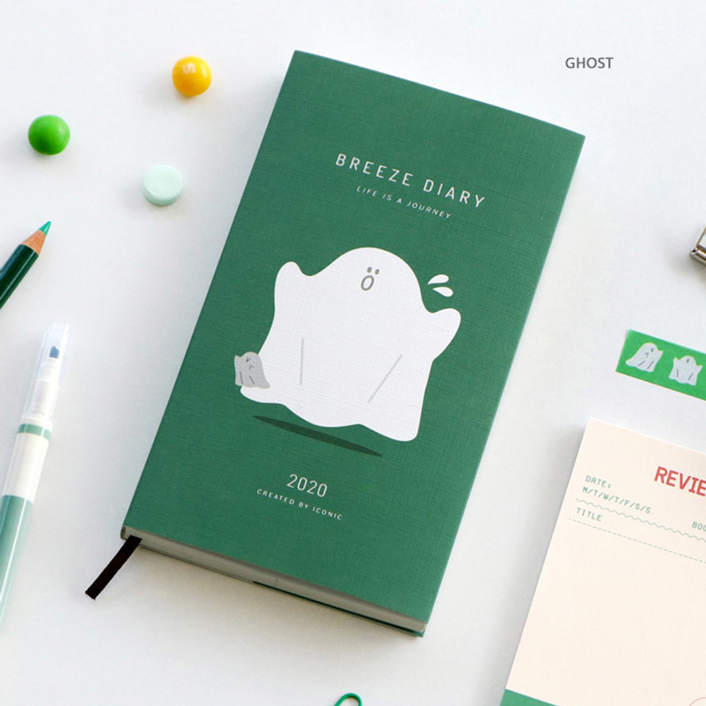 Ghost - 2020 Life is a journal breeze dated weekly diary