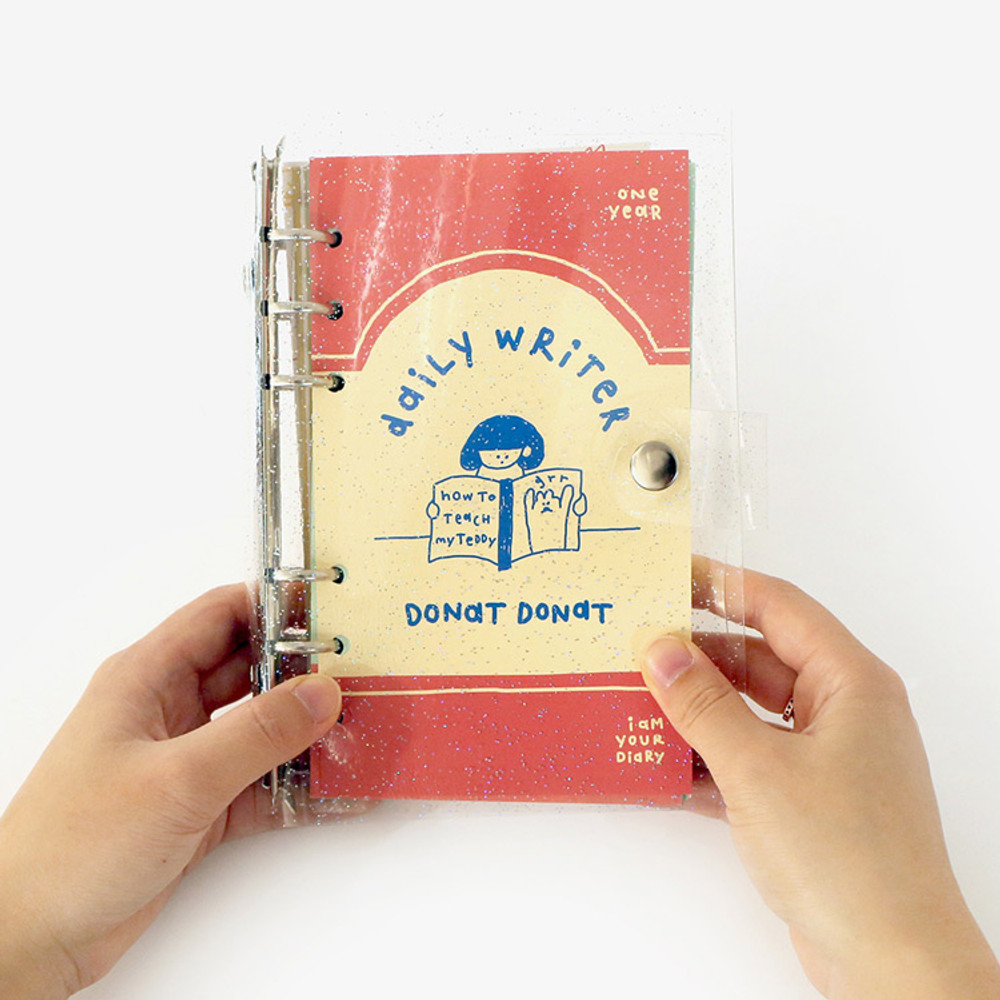Ginger - ROMANE Donat Donat twinkle 6-ring dateless weekly planner