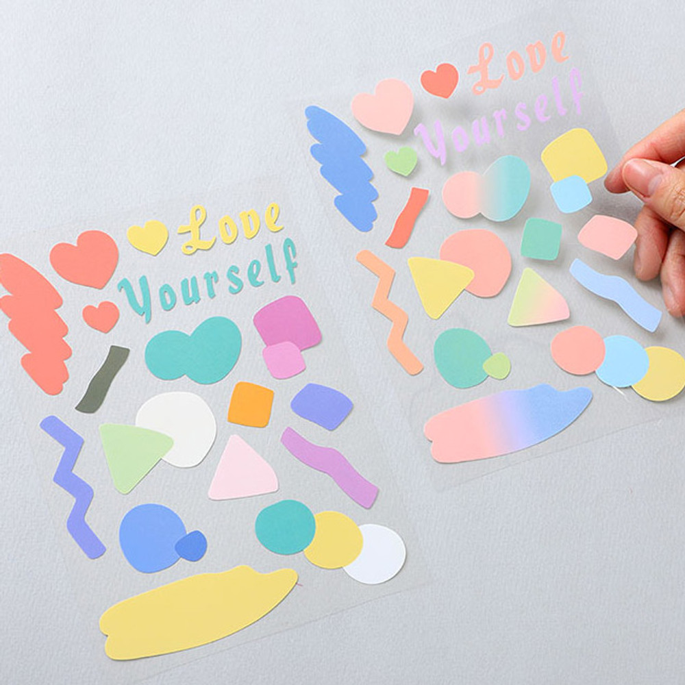PLEPLE Point up removable paper sticker