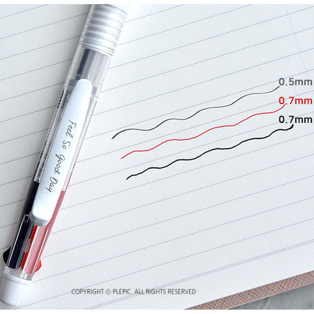 Tip color - Play Obje 2+1 mechanical pencil ballpoint multi pen