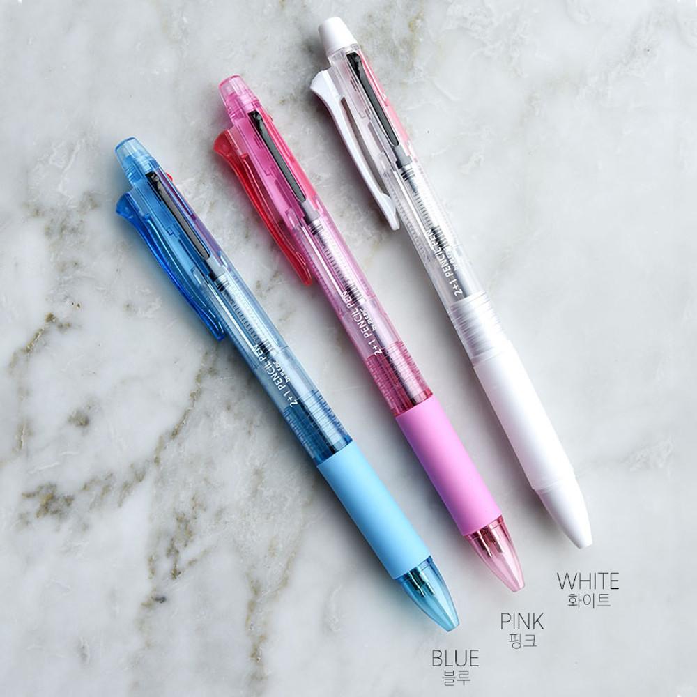 Color - Play Obje 2+1 mechanical pencil ballpoint multi pen