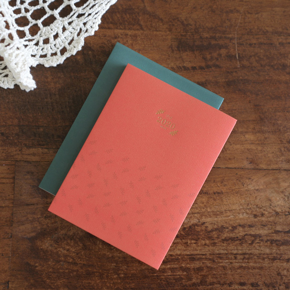 3AL Hello 2020 small dated weekly diary planner