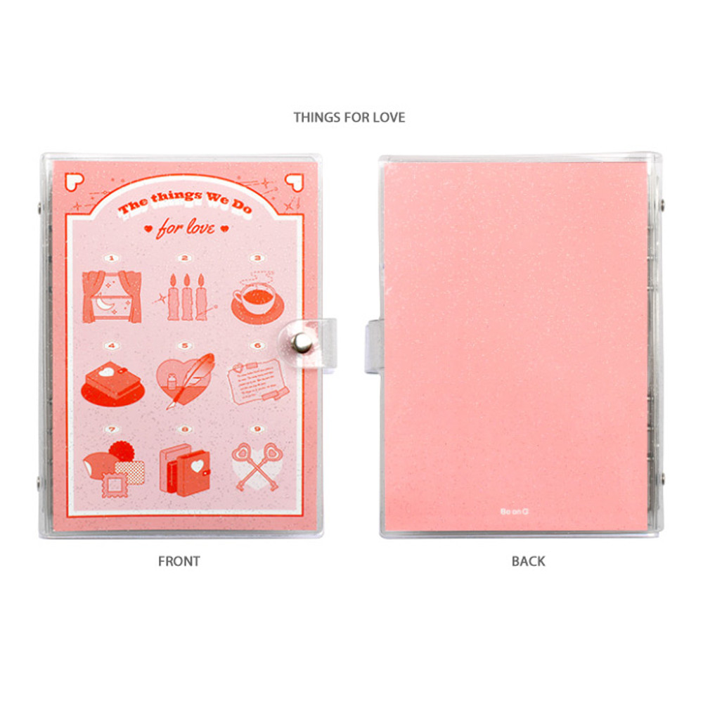 Things for love - After The Rain Twinkle pocket 6-ring undated monthly diary