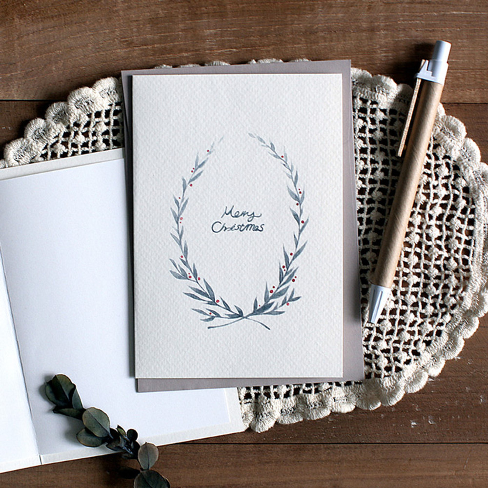 DBD Cotton 2 Christmas card with envelope