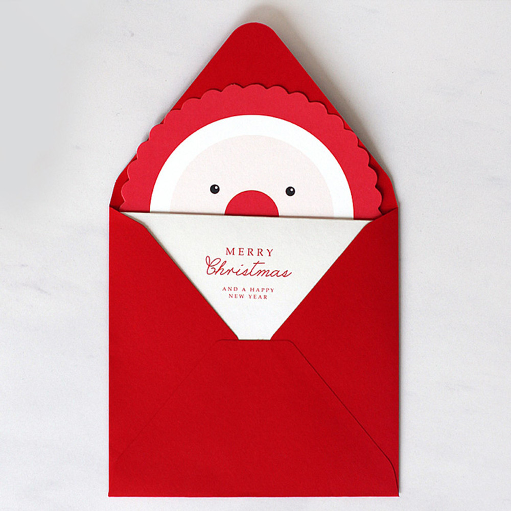 DBD Candy Christmas card with envelope