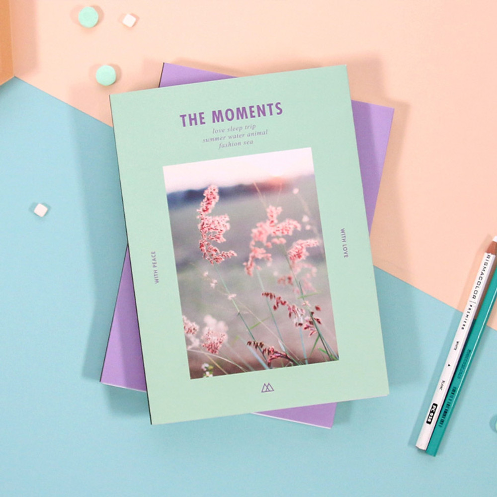 Second Mansion The Moments dateless weekly diary planner