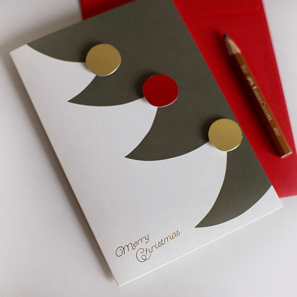 DBD Cute Christmas card with envelope