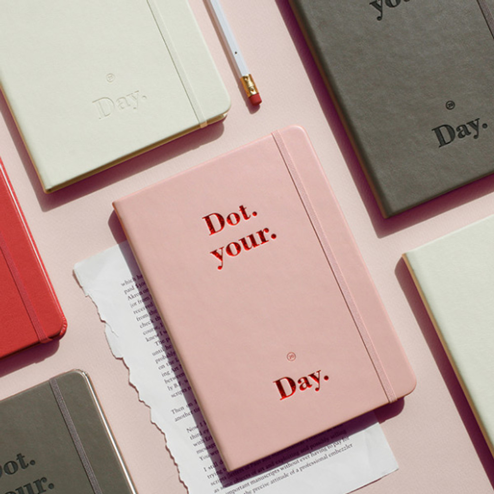 After The Rain 2020 Dot your day weekly dated diary planner