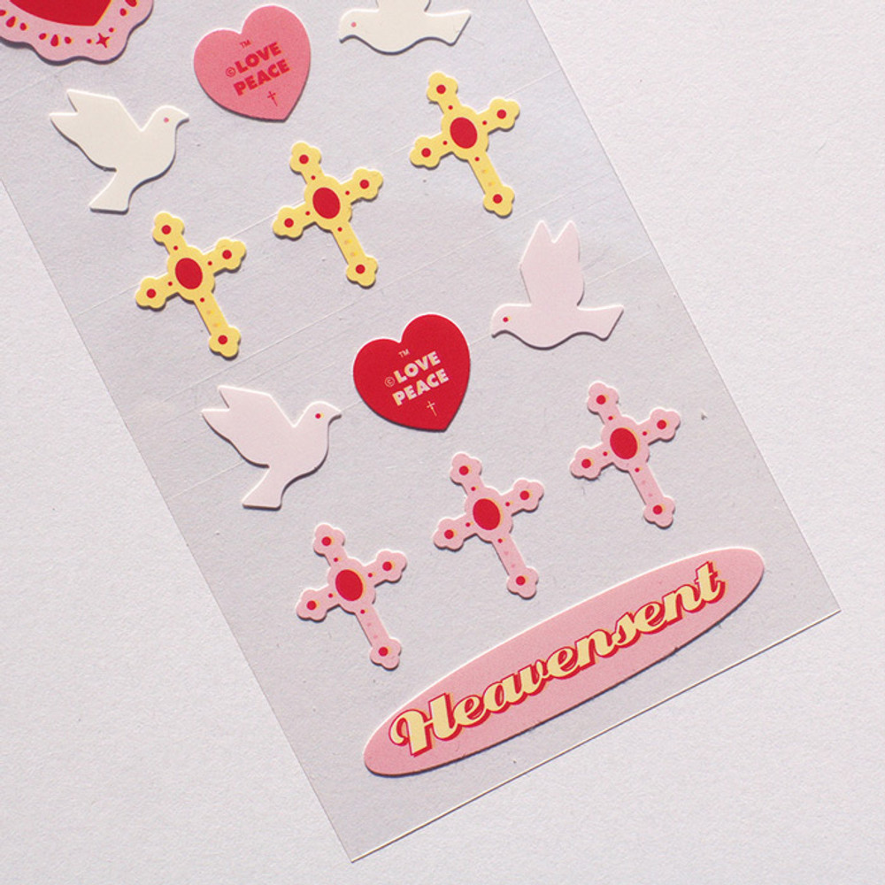 Usage example - After The Rain Love and dream seal paper sticker